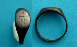 Ring, Medieval, Men's, Mystic intaglio?